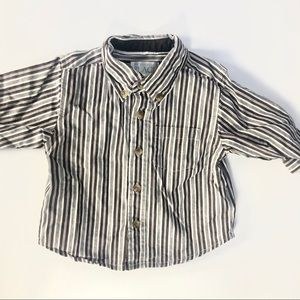 The children's place button down shirt like new
